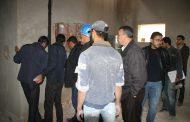 لجنة تتبع أشغال المستشفى المحلي بزايو في زيارة تفقدية