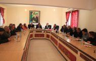 النائب الأول لرئيس جماعة زايو السيد أحمد بزعين يعقد اجتماعا مع المكتب الوطني للماء الصالح للشرب
