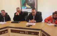 اجتماع اللجنة المحلية للمبادرة الوطنية للتنمية البشرية بمدينة زايو