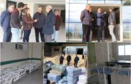 زيارة ميدانية لمعاينة وصول تجهيزات ومعدات مستشفى القرب بزايو