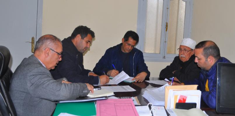 اجتماع لجنة الميزانية والشؤون المالية والبرمجة التابعة لجماعة زايو