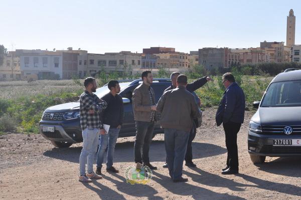 التحضير لإنطلاق مشروع التطهير السائل بمدينة زايو