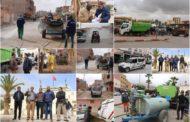 حملة واسعة لتعقيم وتطهير الأحياء من طرف جماعة زايو للوقاية من كورونا + صور