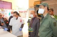 باشا مدينة زايو يراقب محلات بيع اللحوم رفقة طبيب المكتب الصحي الجماعي