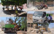 جماعة زايو تقوم بحملة تنظيف واسعة بحي مولاي ادريس