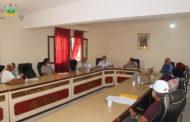اجتماع لجنة المرافق العمومية و الخدمات يوم 25-09-2020