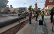 إستمرار عملية تجديد قنوات الصرف الصحي في أحياء مدينة زايو