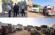 جماعة زايو بتنسيق مع السلطات المحلية تعقم منازل المصابين بفيروس 'كورونا'