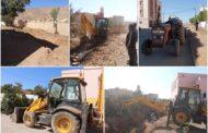 لليوم الثاني .. استمرار حملة النظافة بثانوية حسان بن ثابت التأهيلية