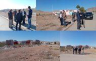 اللجنة الإقليمية تعاين البقعة الأرضية التي تم اختيارها لبناء مدرسة إبتدائية بحي سوكرافور