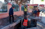 مواكبة أشغال إنجاز شبكة التطهير السائل بحي مولاي إدريس