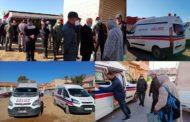 السلطات المحلية بتنسيق مع جماعة زايو تنظم حملة لإيواء المشردين والأشخاص بدون مأوى من موجة البرد القارس
