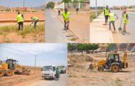 جماعة زايو تكثف من عمليات النظافة في مختلف أرجاء المدينة (صور)
