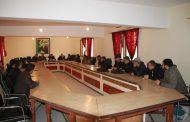 أشغال جلسة فتح الأظرفة المتعلقة بأشغال (تهيئة المنطقة الخضراء وتجهيز مساحة الالعاب للأطفال) بجماعة زايو