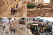 جماعة زايو تواصل عملية تنقية الأودية لحماية المدينة من الفيضانات + صور