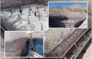 تتواصل أشغال بناء خزان مائي جديد بمدينة زايو