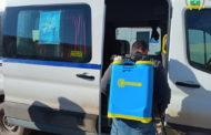 مواصلة عمليات تعقيم المرافق العمومية و وسائل النقل العمومي