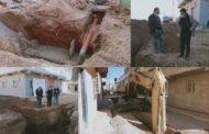 تتبع أشغال إعادة تأهيل وترميم شبكة التطهير السائل لحي السلام