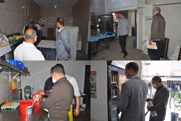 بالصور : لجنة مختلطة بزايو تزور المخابز و محلات بيع الدجاج و اللحوم البيضاء بالمدينة