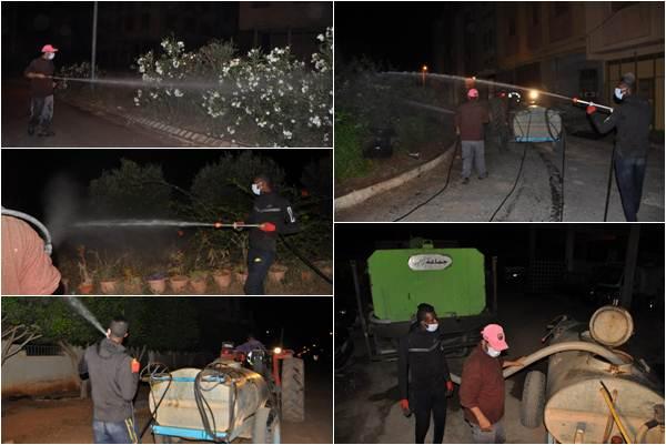 بالصور .. جماعة زايو تواصل حملات رش المبيدات لمحاربة الناموس